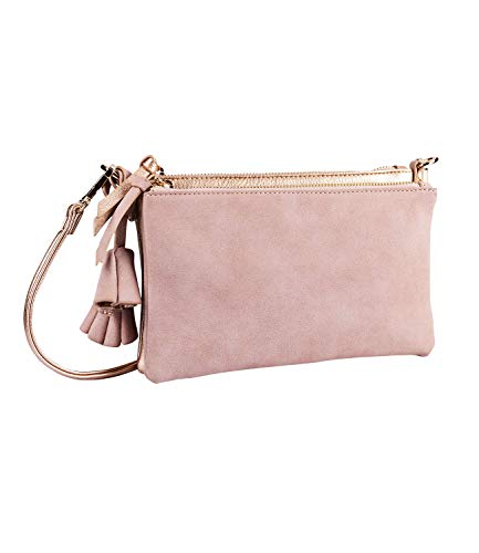 SIX Mini-Bag in trendigem Roségold (726-755)