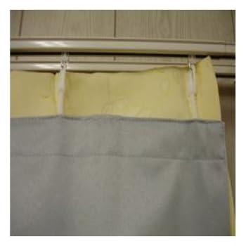 カーテン 遮光性ライナー 巾105×丈127cm(巾100×丈135cm用)