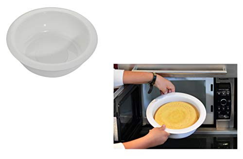Home-X Microwave Baking Pan, Quick Cake Cooker