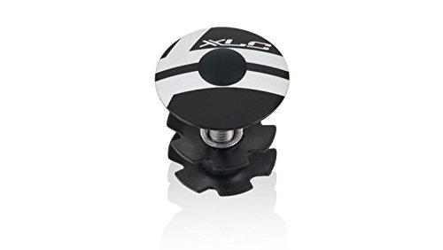 XLC Unisex– Erwachsene Zubehör A-Head Plug AP-S01 Alu 1 1/8 Zoll, Schwarz, One Size
