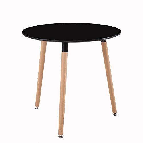 EIU moderne creatieve kleine appartement ronde tafel eenvoudig en stijlvol massief hout eettafel en stoel combinatie Cafe onderhandeling tabel W1/8