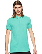 OVS Men's 191POLBOSS-289 Light Polo Shirt, Green (Green Melange 715), X-Large