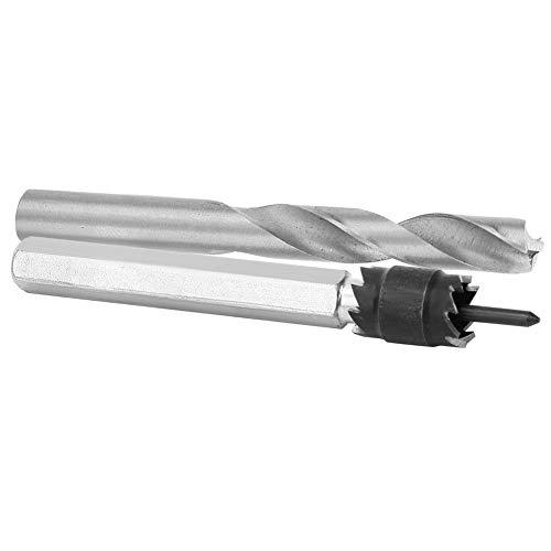 Welding Drilling Tool Fittings, Spot Weld Cutter Set Double-sided Blade HSS Spot Weld Cutter Professional Design Drill Bit Reasonable Structure for Welding