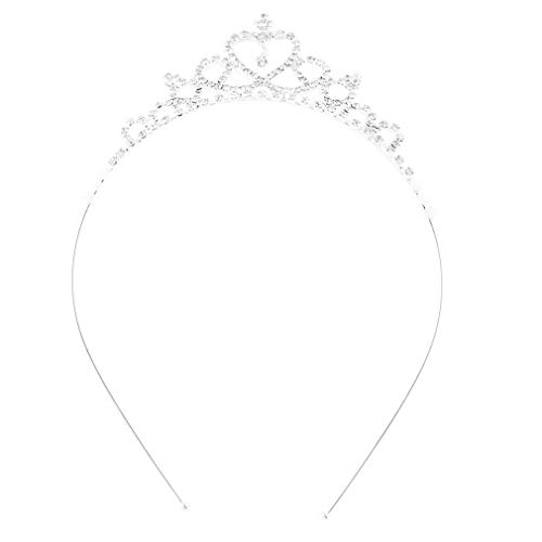 Tree-on-Life Kinder Blumenmädchen Kinder Hochzeit Prom Tiara Crown Stirnband - Kid Size Baby Princess Stirnband Mädchen Haarband Haarschmuck
