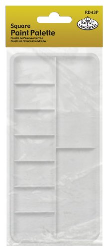 Royal & Langnickel Palette, White, One