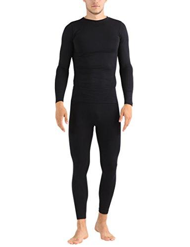 Ultrasport Herren Unterwäsche-Set Comfy, schwarz, 2XL