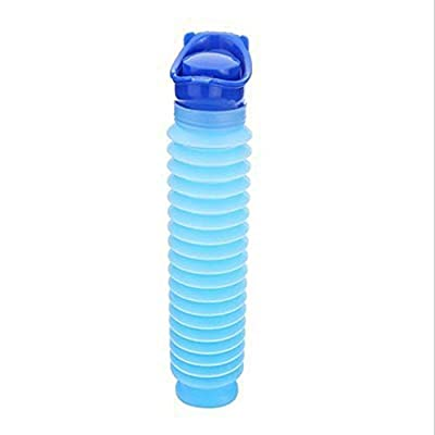 ? Dergo ? Portable Urinal 750ML Portable Adult Urinal Camping Travel Car Urination Pee Toilet Urine Help