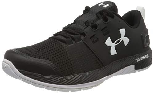 Under Armour Men's UA Commit Training Shoes, Black/White, 10