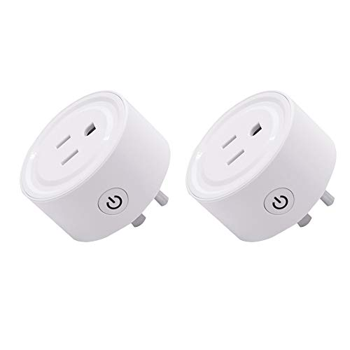 XUANWEI EWelink ZigBee Smart Plug Socket, compatibile con Alexa Mini Micro Switch Plug, può essere utilizzato con Samsung Smart-Things Hub e Amazon Alexa