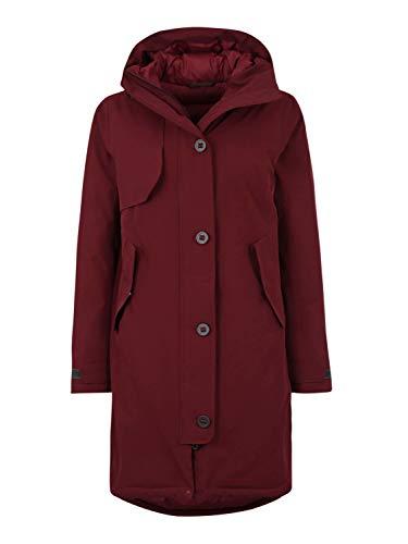 Bergans Oslo Down W Parka Rot, Damen Daunen Freizeitjacke, Größe L - Farbe Zinfandel Red Melange