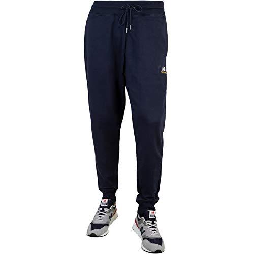 New Balance Essentials Embroidered Sweatpants Jogginghosen (L, Navy)