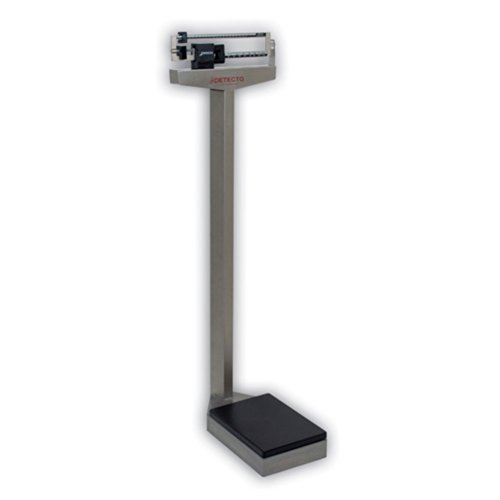 Detecto 437S Stainless Steel-Eye Level Physician Scale without Height Rod