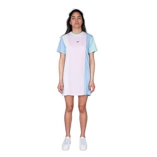 Tommy Hilfiger Jeans TJW Color Block Tee Camiseta Mujer DW0DW10965 TOJ Romantic...