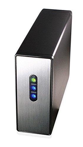 HornetTek Accelerator USB 3.0 Dual Bay 2.5  HDD (Notebook Size HDD)   SDD Enclosure w RAID 0 & RAID 1
