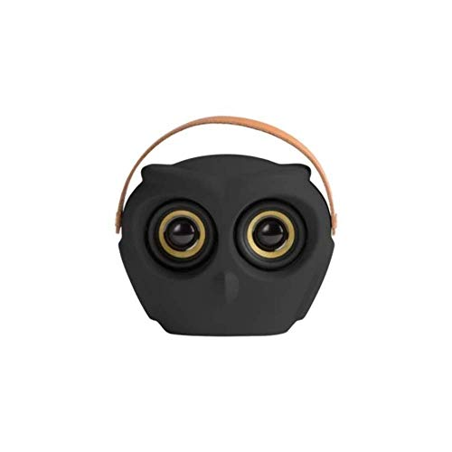 Kreafunk aOwl Black Altavoz portátil Bluetooth 20 Horas Tiempo de reproducción Diseño danés