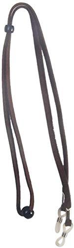 LYXMY Lupe Band Brille rutschfest Schwimmend Reise Rafting Schlüsselband Außen Sports Damen Herren Weich Halter Verstellbar Schnur Klettern Zubehör (Rot) - Schokolade, Einheitsgröße