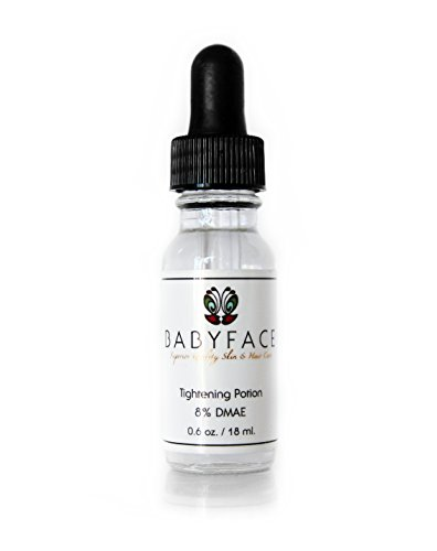 Babyface Instant Tightening Serum - Extra Strength 8% DMAE for Maximim Tightening and Pore Refining. Lifts, Smoothes, Resurfaces Dull Skin