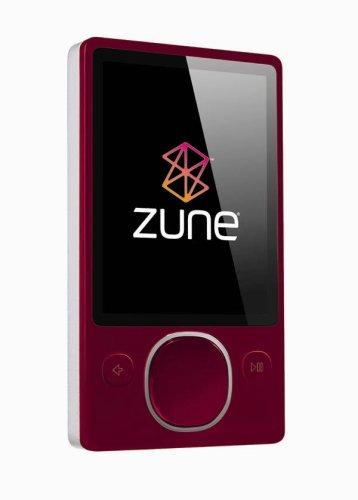 Zune 80 GB Digital Media Player (Red)
