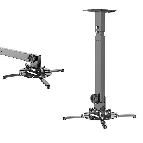 GIBBON MOUNTS プロジェクターマウント ブラケット スチール製 天吊り金具 壁掛け360度回転可能金具 プロジェクターホルダー (天吊り壁掛けタイプ)