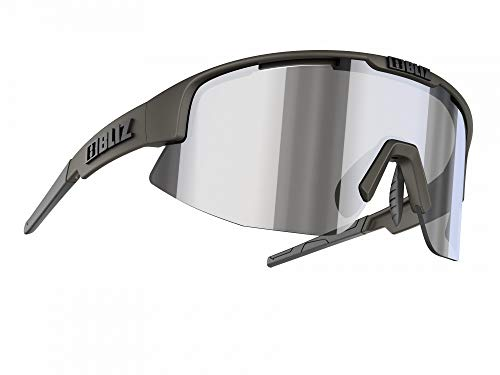 Bliz Matrix M12 Brille camo Green/Smoke/Silver Mirror 2020 Sonnenbrille