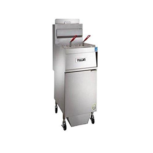 45lb. Gas Solid State Deep Fryer 70 kBTU w/KleenScreen