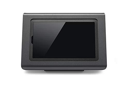 Tabdoq Soporte antirrobo de mesa compatible con tablet Samsung Galaxy S7 de 11 pulgadas (negro)