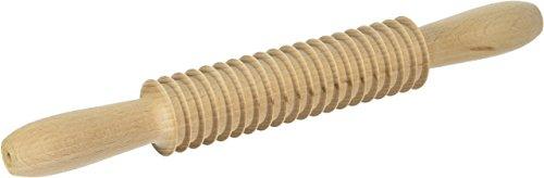 Eppicotispai Beechwood fettuccine Cutter Rolling Pin, Large