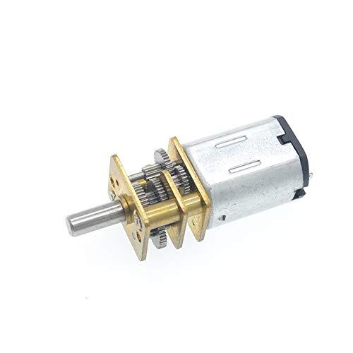 Eléctrico del Motor de Engranajes Miniatura DC 3V N20 Motor Reductor de...