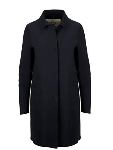 Herno Luxury Fashion Damen CA0292D13455S9300 Schwarz Mantel | Jahreszeit Outlet
