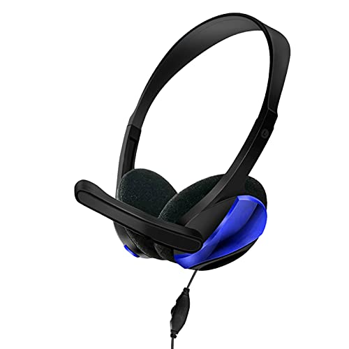 3.5mm Cable Wired Gaming Headset Stereo Sound Headphone with Volumn Control and Microphone