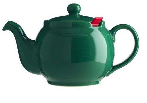 London Teapot Company - Chatsford - Teiera per 2 Tazze con 1 Filtro Rosso, Colore: Verde