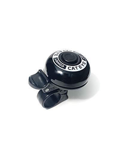CATEYE Fahrradklingel PB-200 Comet Bell, Schwarz, One Size, FA003527910