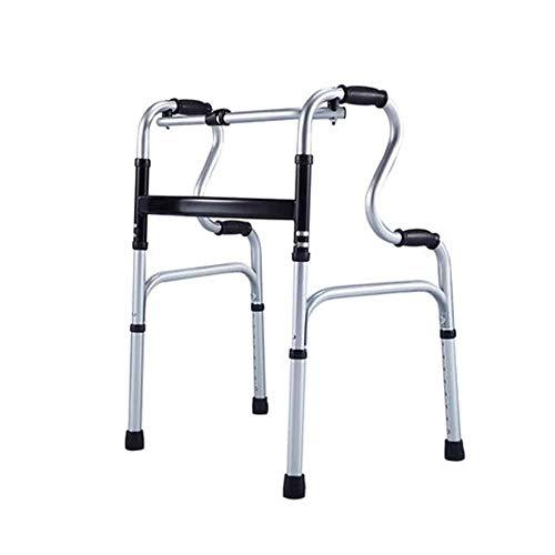 SSNG Multifunktionale Gehhilfe für ältere Menschen Reha-Trainingsgeräte für Gehhilfe-Krücken Gehgestell für ältere Menschen,(A)
