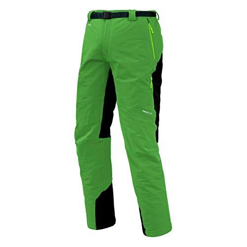 Trangoworld pc007744 – 6yt-la Pantalon Long, Homme, Vert/Gris (Ombre Foncé), L