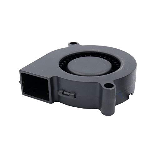 32 F ventilator 50 mm 52 x 51 x 15 FB1401205205115A 12 V DC 0,11 A 1,3 W Air Blower ventilator bladblazer met tangentiale turbine 50 mm 5 cm 3 draden (+/-/sensor) koeling