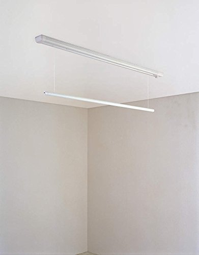 大建工業 室内物干し ものほし上手 天井直付けタイプ 直付昇降タイプ FQ0402-2N ショート(1340mmタイプ)