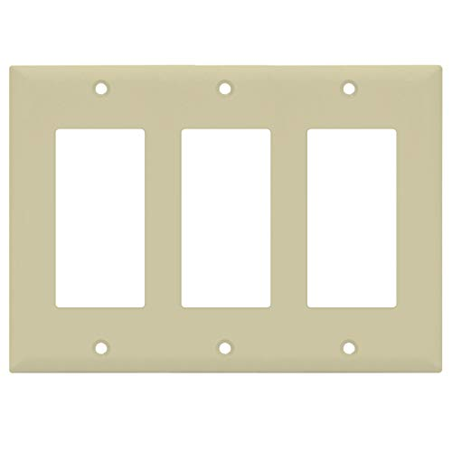 Ivory Decorator Wall Plate - 5