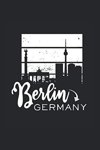 Columna de la victoria: Din A5 Berlin Mitte cuaderno de la capital federal de regalo con 120 páginas