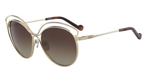 Liu Jo Lj112S 717 58 Gafas de sol, Shiny Gold, Mujer