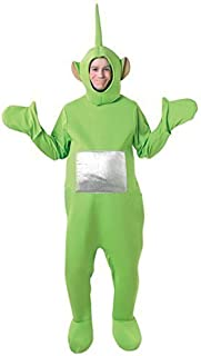 Official Licensed Mens Ladies Tinky Winky Po Dipy Laa-Laa Red Green Purple Yellow Teletubby Teletubbies Hen Stag Do Cartoon Fancy Dress Costume Outfit (Green)