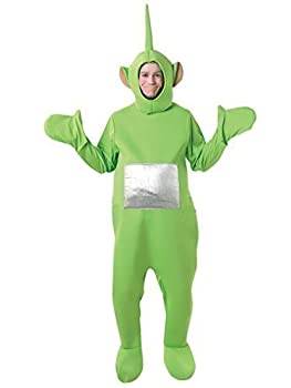 Official Licensed Mens Ladies Tinky Winky Po Dipy Laa-Laa Red Green Purple Yellow Teletubby Teletubbies Hen Stag Do Cartoon Fancy Dress Costume Outfit  Green