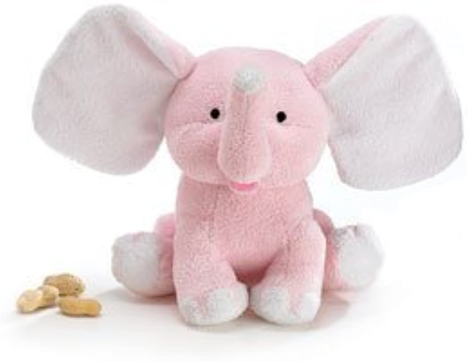 Plush Baby Sissy 8 Pink Elephant Soft and Sweet For Baby Nursery by Burton & Burton