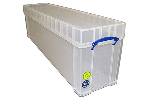 Really Useful Storage Box 77 Litre Clear