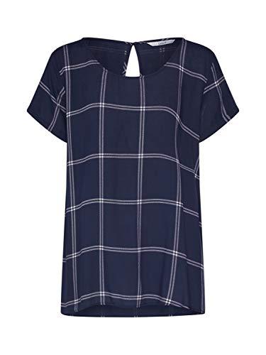 ONLY Damen ONLFIRST ONE LIFE SS AOP TOP NOOS WVN T-Shirt, Night Sky, 38