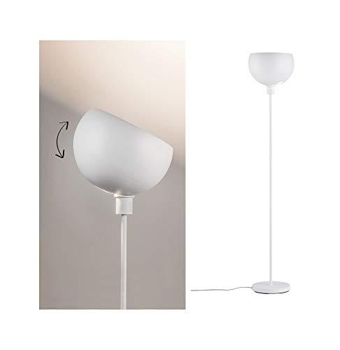 Paulmann 70928 Stehleuchte Gambia max. 60 Watt Stehlampe Weiß matt Standleuchte Metall E27
