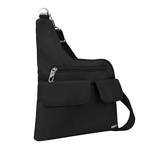 Travelon Anti-Theft Cross-Body Bag, Black, One Size