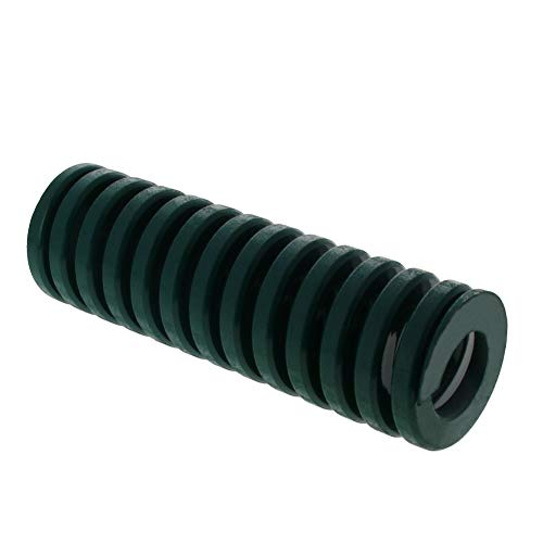 MroMax 40mm OD 125mm Long Spiral Stamping Heavy Load Compression Mould Die Spring for 3D Printer Ender Electric Part Green 1PCS