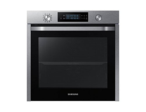 Samsung - Forno multifunzione Dual Cook da incasso NV75K5571RS finitura inox antimpronta