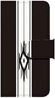 Xperia ZL2(SOL25) オルテガ2 ブラック 【鏡付き】 手帳型スマホケース ql552-e2550_am ミラー付き
