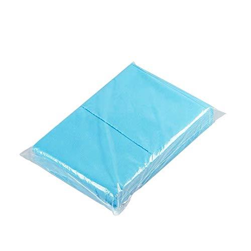 100 sábanas desechables impermeables espesas estériles higiénicas para prevenir alergias, no tejidas para salón de belleza, tatuajes, hoteles, masajes